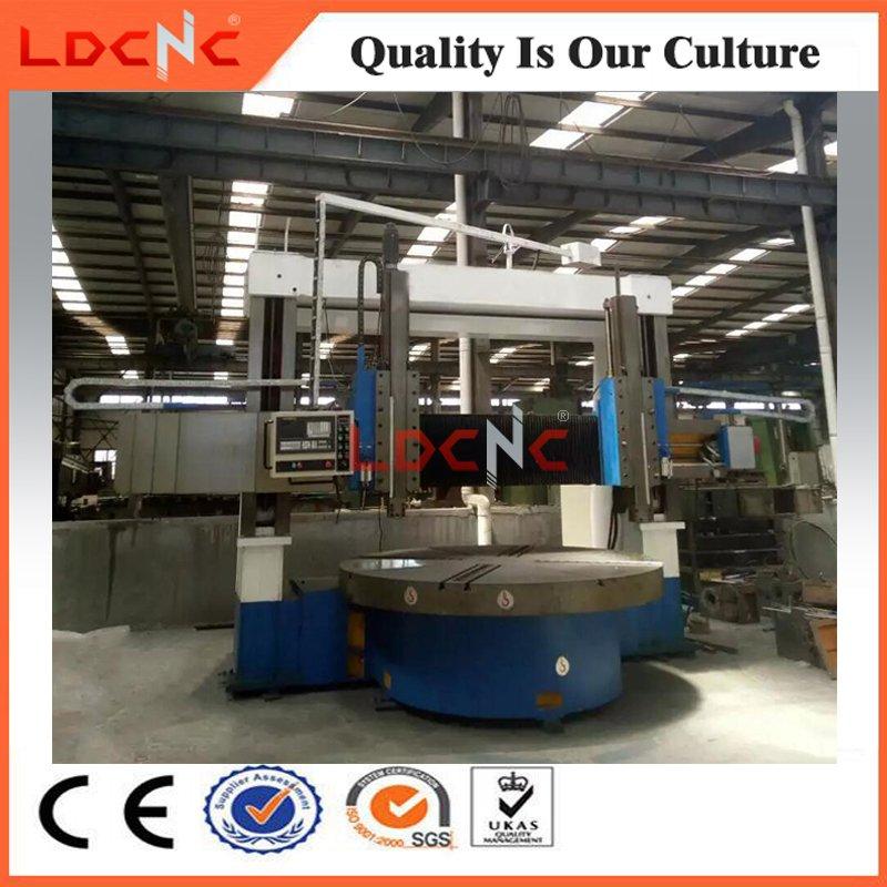 Large Type Vertical Metal Turning Lathe for Flange