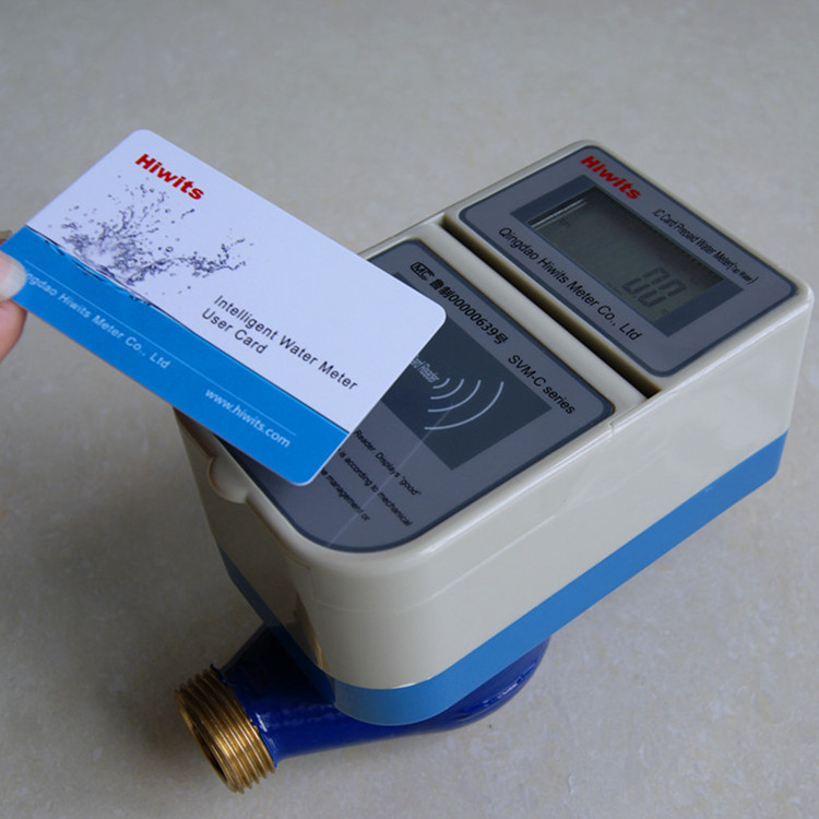 Prepaid Smart IC Card Single Jet Mbus Bluetooth Water Meter