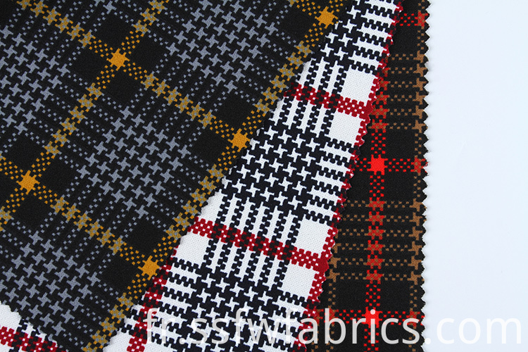 Factory Direct Sale Scuba Textile Fabric