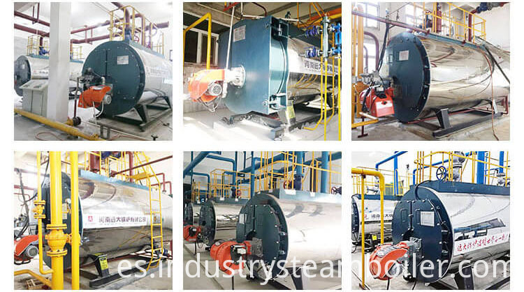Good Performance Industrial Oil Fired Hot Water Heater