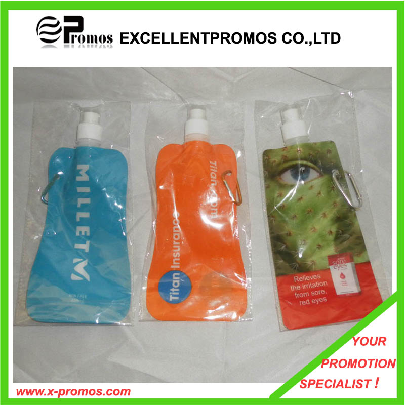 Promotion Top Printing Foldable Plastic Water Bottle (EP-B9124)