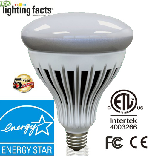 High Power Aluminum with Plastic LED Bulb Light