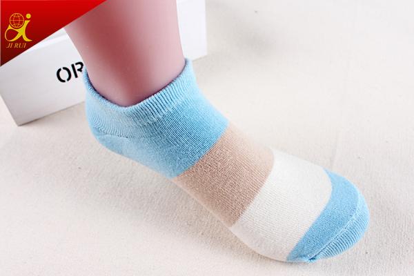 Colorful Stripe Cotton Soft Wholesale Socks