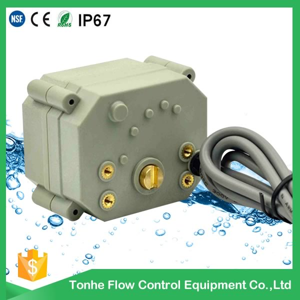 4-20mA 3 Wire 5 Wires Modulating Mini Electric Motorized Valve Actuator