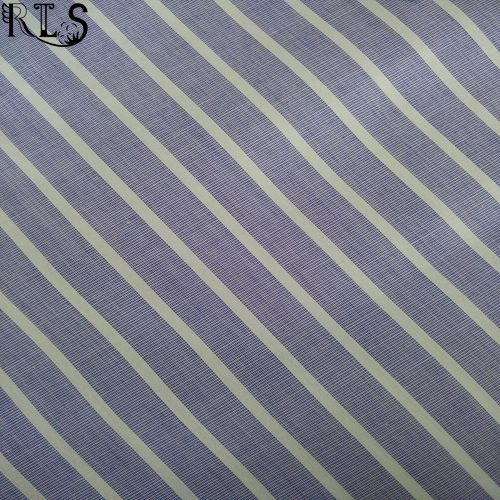 Cotton Poplin Woven Yarn Dyed Fabric for Garments Shirts/Dress Rls40-3po
