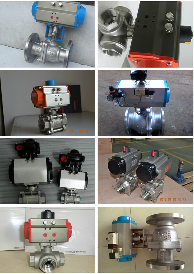 Italy Wafer Type Stainless Steel CF8 with Pneumatic Actuator