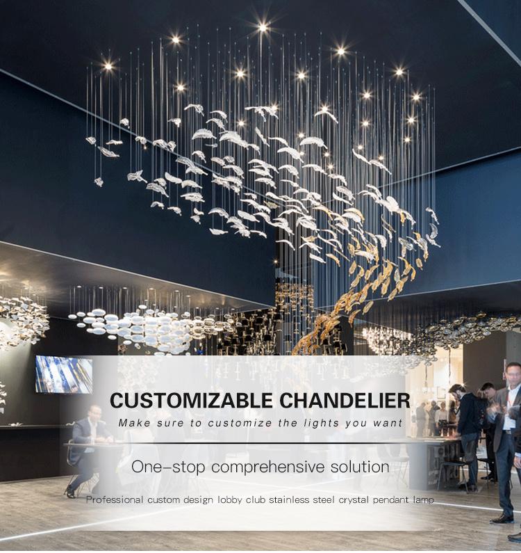Customize pendant light