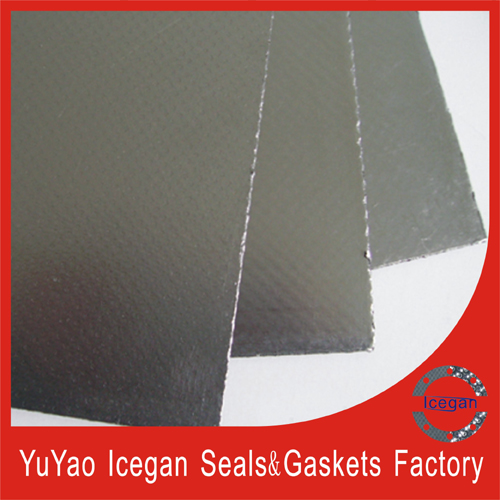 Reinforced Graphite Composite Sheet with Ss316 Tanged