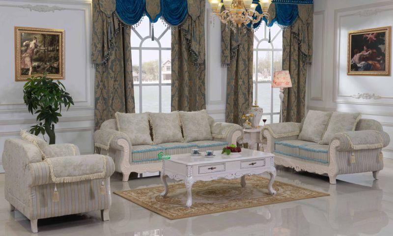 Living Room Sofa / Home Sofa / Wooden Sofa (D92B)