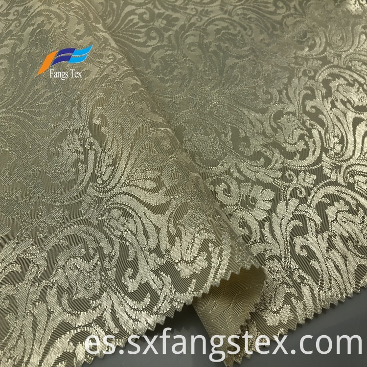 Elegant 100% Polyester Jacquard Window Curtain Fabric 2