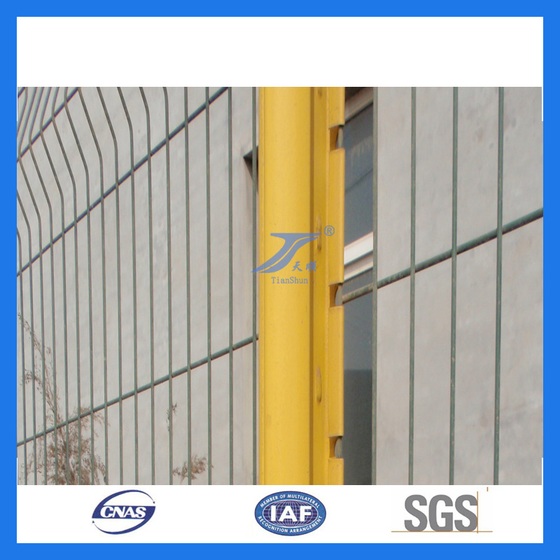 Wire Mesh Factory Fence with Peach Post (TS-L01)
