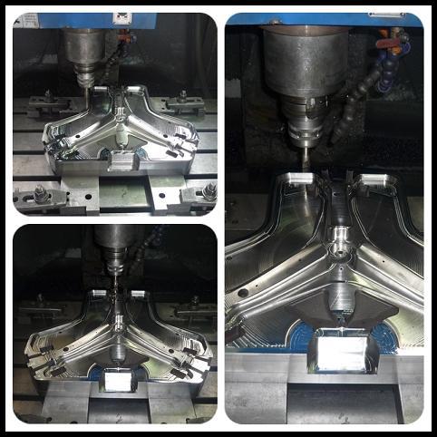 Customized Die Cast Parts of Car Steering Wheel