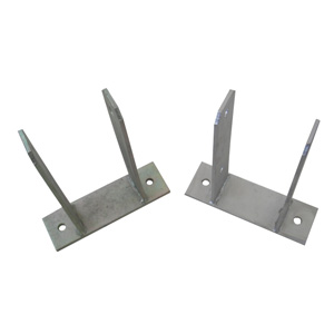 Pole Ground Plate, Fence Post Base Plate