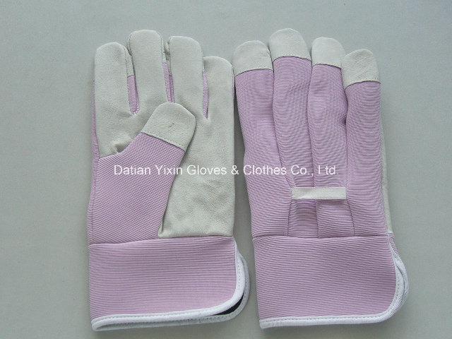Pink Garden Glove-Cheap Glove-Safety Glove