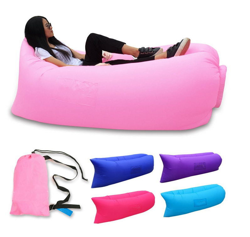 Hot Selling Seleted Material New Design Inflatable Light Sleeping Bag