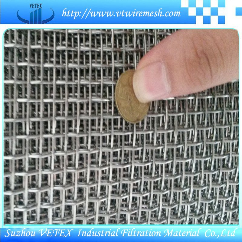 Crimped Square Wire Mesh Used in Agriculture