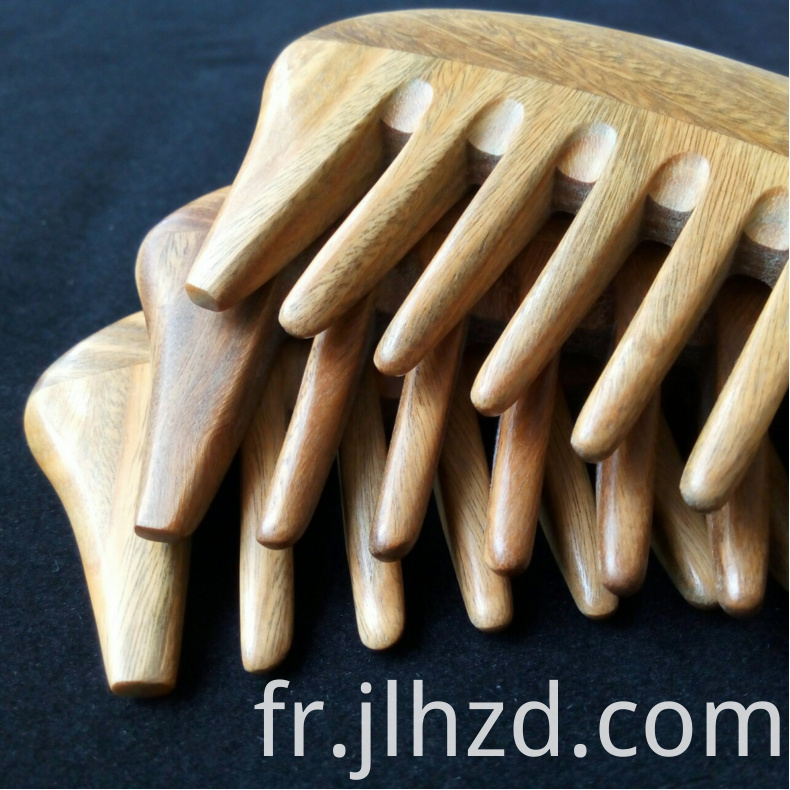 massage wide tooth comb