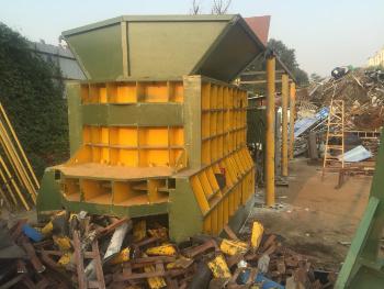 CS-400 Horizontal Iron Steel Aluminum Tubes Container Type Shear