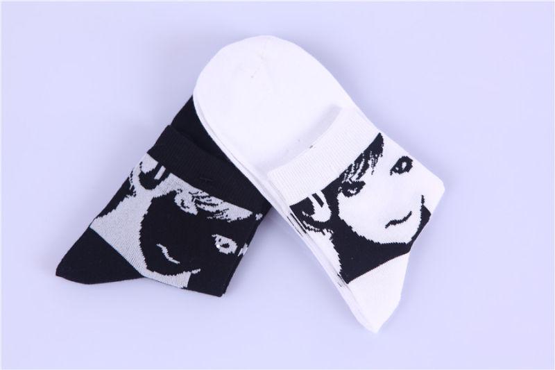 Character Designs Lovely Girl Cotton Socks Wholesale Customs Design