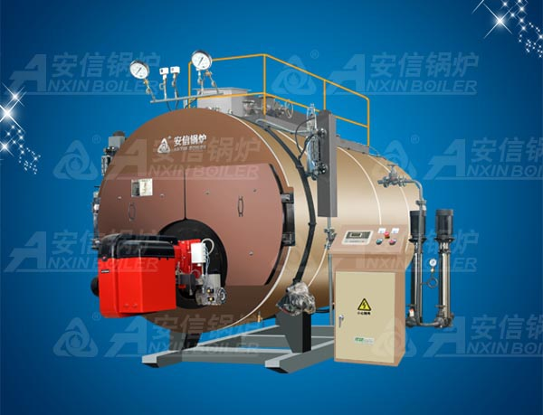 Horizontal Industry Oil (Gas) Condensing Bearing Steam Boiler Wns6