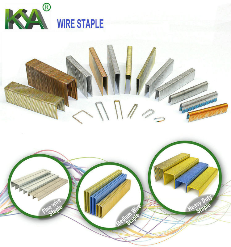Pneumatic 14 Series Staples for Furnituring, Industry