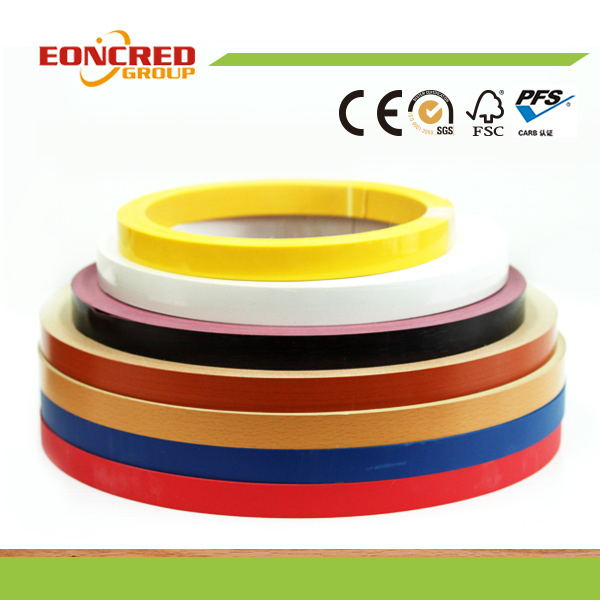 Eoncred Brand Wood Grain Color Matte PVC Edge Banding