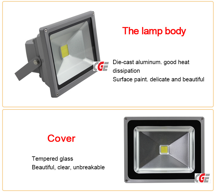 High Quality Outdoor Waterproof IP65 Solar 50W LED Outdoor Lighting