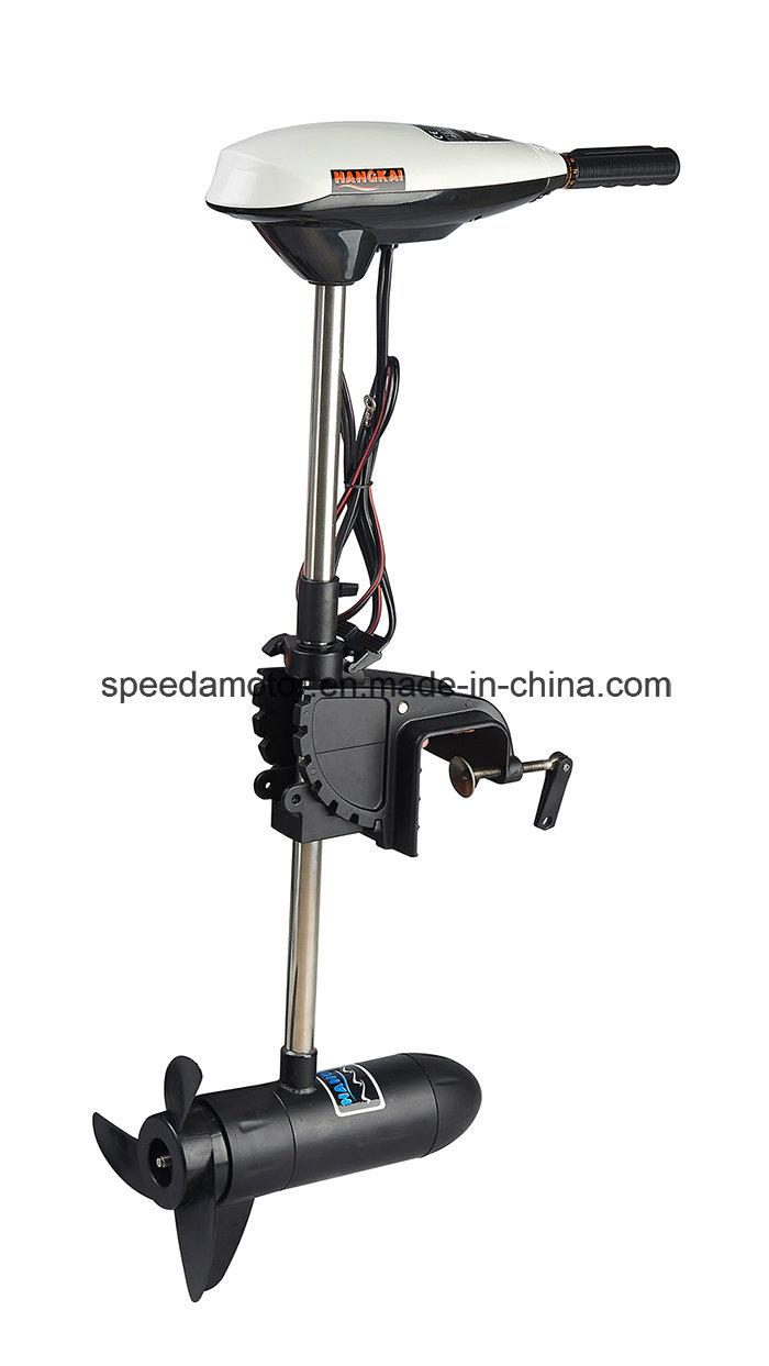 Hangkai 45lbs Thrust Transom Mounted Electric Trolling Motor Saltwater