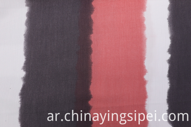 Most popular woven crinkle rayon dyed fabrics