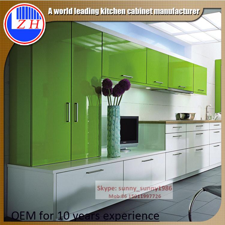 Glossy UV Kitchen Cabinet