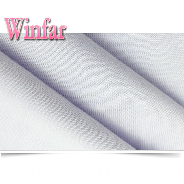 Pure Color Polyester Stretch Fabric