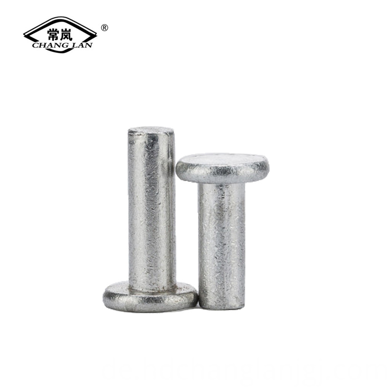 Flat head blind rivet