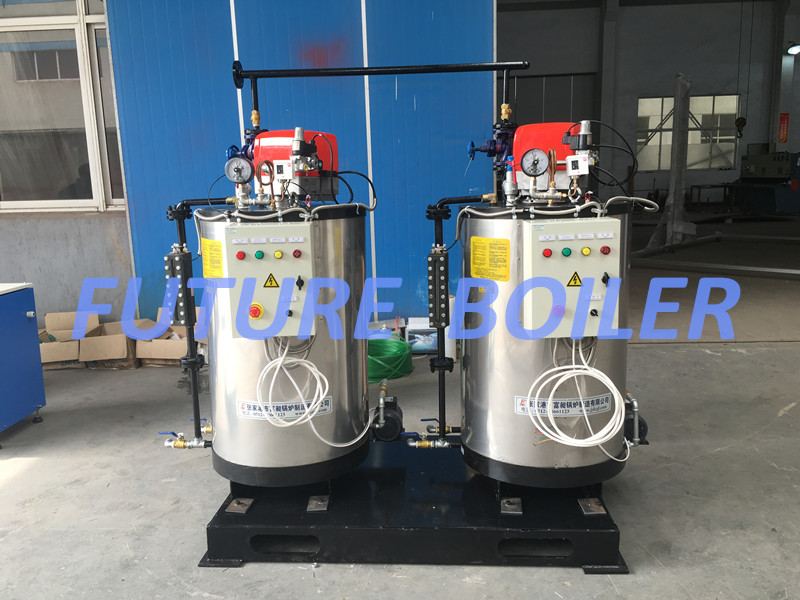 300kg/H Competitive Advantages Vertical Watertube Oil (Gas) Fired Steam Boiler