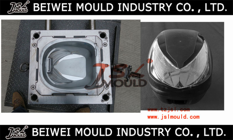 Custom Manufacture of Injection Plastic Motorcycle Helmet Mold