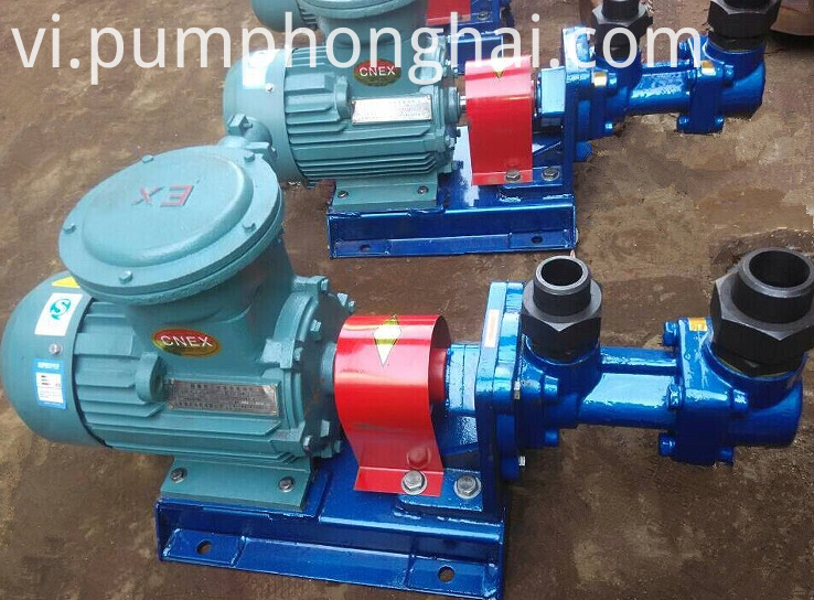 3G25*4-46~3G42*6A three screw heavy oil pump