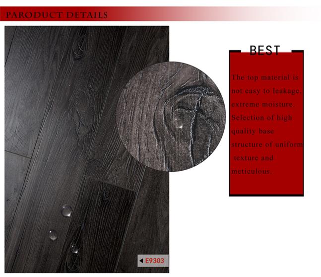 12mm Deep Embossed-in- Register Oak HDF Laminated Wooden Flooring
