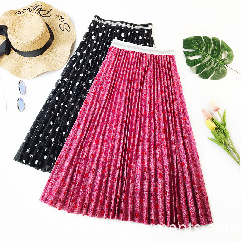 High Quality Women Gauze Skirt