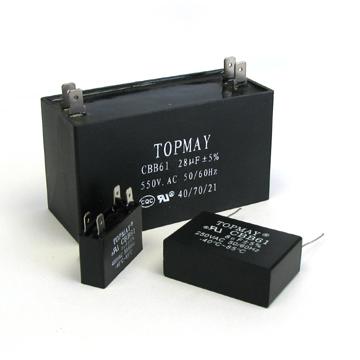 3+6.5UF Fan Metallized Polypropylene Film Capacitor