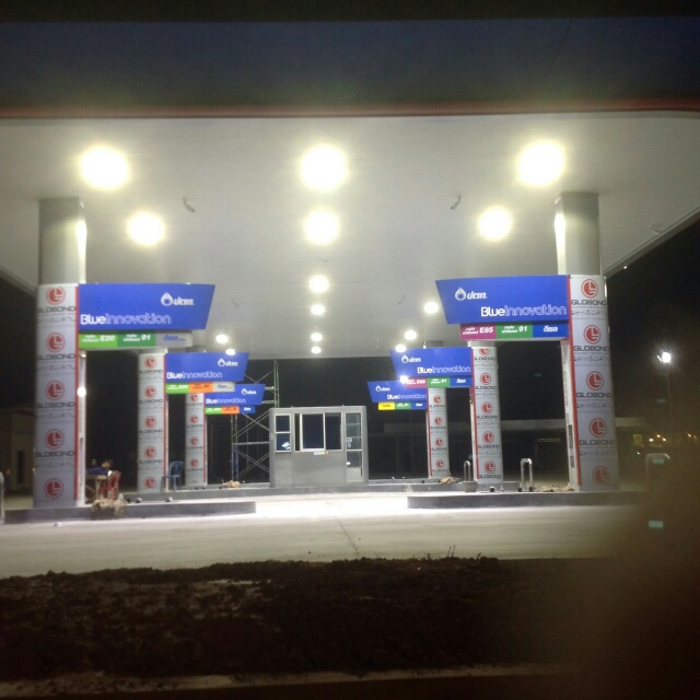 75W 110W 150W IP66 LED Ceiling Recessed Canopy Lights for Gas Station