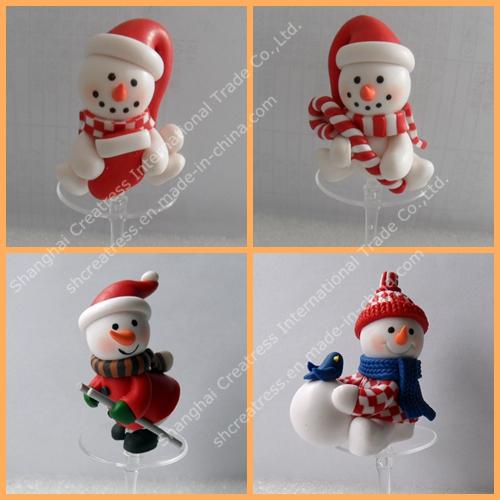 Novel Christmas Ornament for Cake