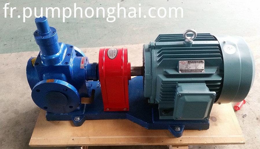 YCB series electric industrial diesel oil gear pump