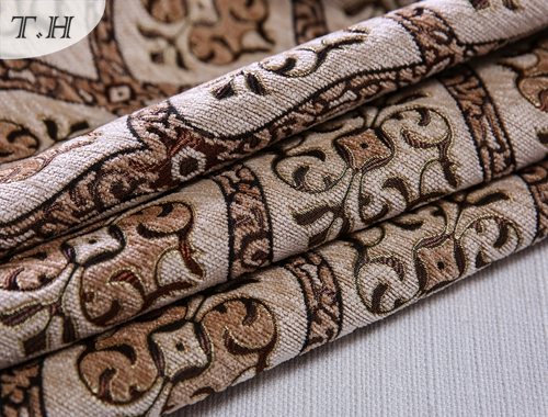 Furniture Upholstery Chenille Fabrics Types Suitable for South- America