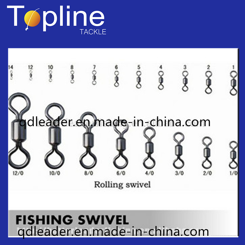 Nickle High Quality and Cheap Fishing Rolling Swivel for Fishing