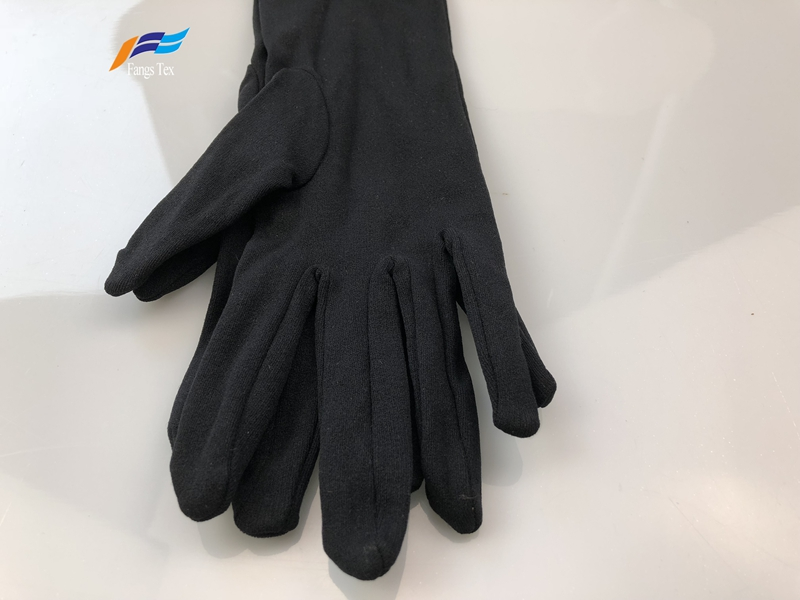 Cheap Price 100% Polyester Muslim Sleeves Islamic Gloves 1