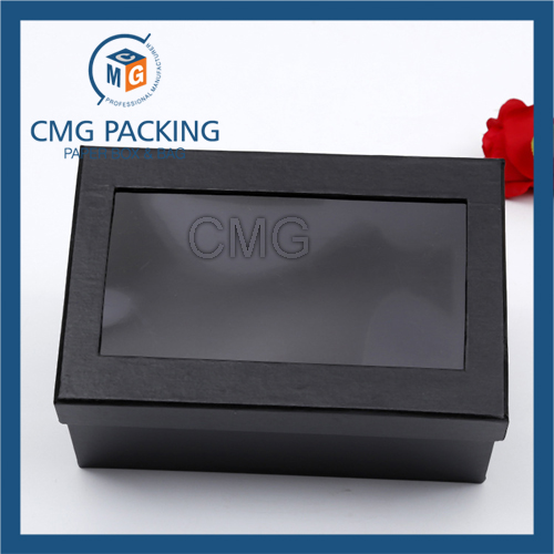 Keychain Paper Box with Clear PVC Window (CMG-AUG-017)