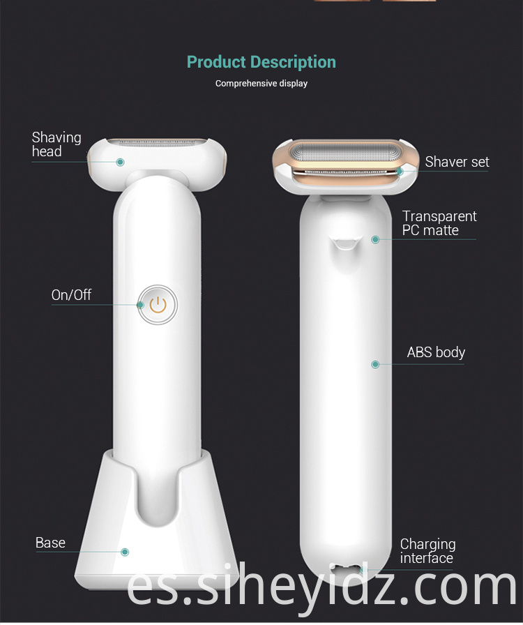 Rechargeable Electric Shavers Hair Remover For Women