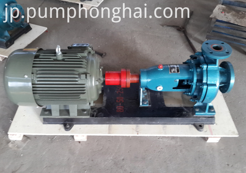pump driven by three phase electric motor