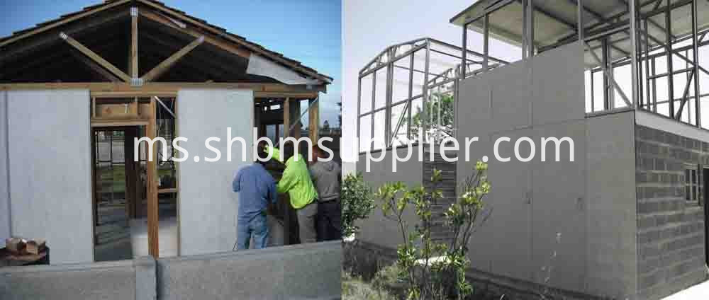 High Strength Exterior Wall Panel house