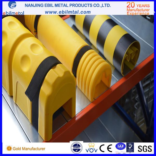 Popular Plastic Upright Protector / Column Protector for Storage Racks