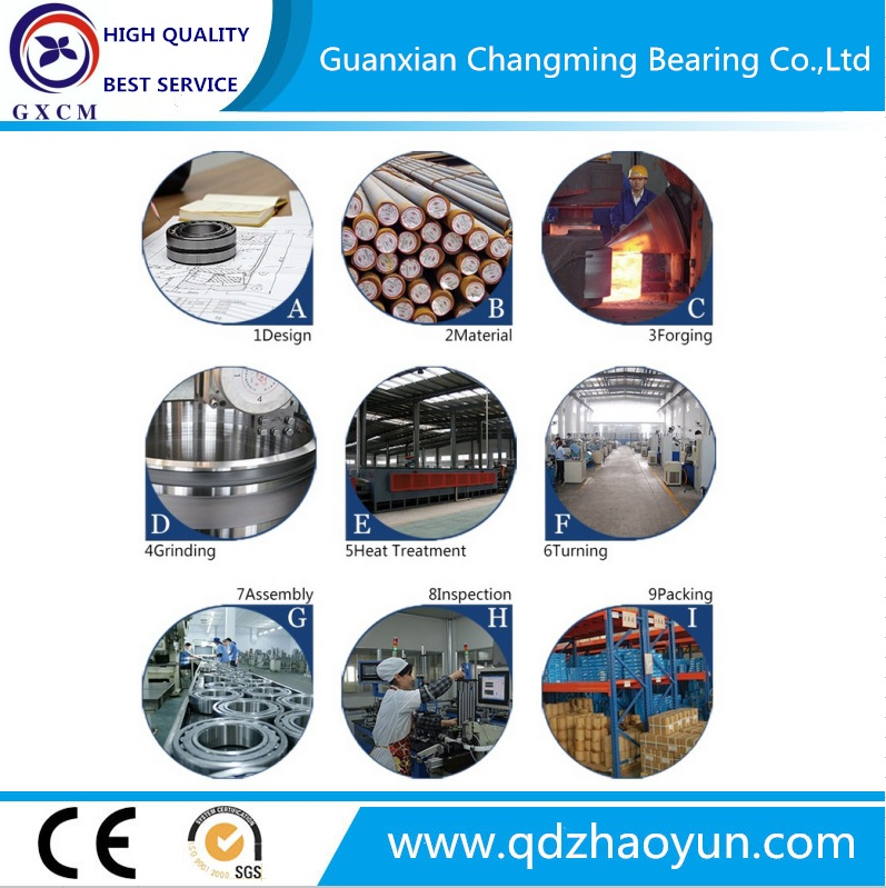 32208 Bearing Factory Supply Chrome Steel Tapered Roller Bearing
